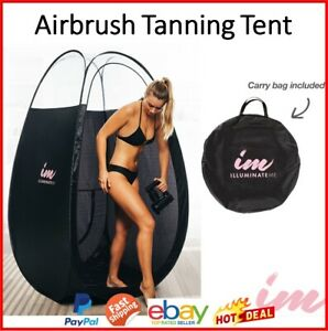 Airbrush Tanning Tent  Portable Large Pop Up Spray Tan Tent Minetan Mobile Booth
