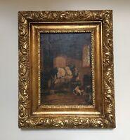 Adolf D Nowey (1835-1907) Original 19th century oil on canvas. Austrian artist