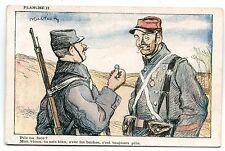 GUERRE.WAR.COLLECTION ARTISTIQUE DE L'ALCOOL DE MENTHE DE RICQLES.BOCHES