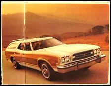 1973 Ford Station Wagon Sales Brochure, Galaxie Torino