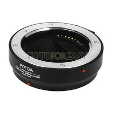 FOTGA Metal AF Four Thirds lens to Olympus Micro 4/3 Adapter DMW-MA1 MMF-1 MMF3