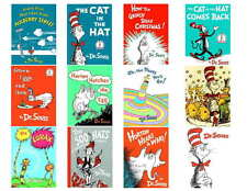 DR. SEUSS BOOKS,  SET 1 OF 6  PHOTO or FRIDGE MAGNETS (12) IMAGES)
