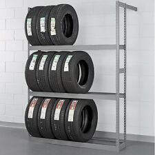Tire Rack Garage Storage Wall Mount Multi-Tire Vertical Car Truck Auto NEW