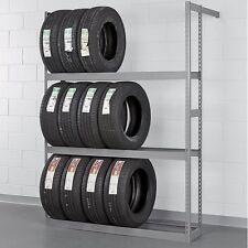 Tire Rack Garage Storage Wall Mount Multi-Tire Vertical Car Truck Auto NEW