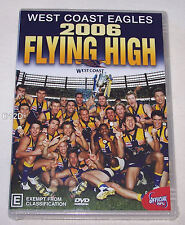 West Coast Eagles AFL 2006 Flying High Season Highlights DVD New