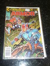 ARMOR - No 12 - Date 03/1992 - Continuity Comics (Bar Code Issue)