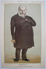 1871 JOHN LOCKE ENGLISH MP STATESMAN VANITY FAIR        COLOUR LITHOGRAPH PRINT