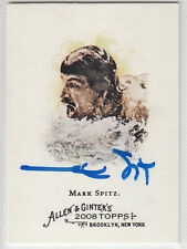 Mark Spitz Olympic Swimmer 7 Gold Medals SIGNED CARD ALLEN & GINTER #262