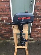 Evinrude 2.3hp 2-Stroke Short Shaft Outboard Boat Engine. Serviced