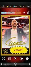 Topps WWE SLAM Digital Topps Chrome Gold Signature Cesaro