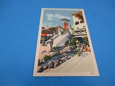 Oriental Court Mission Inn Riverside CA Vintage Unused Color Postcard PC36