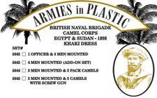 Armies in Plastic - Naval Brigade Camel Corps Khaki Officer & Men 54mm 5642