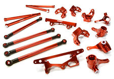 C26393RED Integy Billet Machined Suspension Kit for HPI 1/10 Scale Crawler King