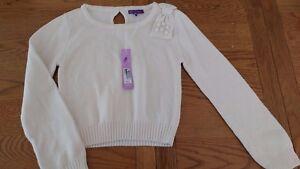 BNWT girls M&S beige jumper.  9-10 years          1/8