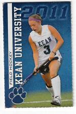 2011 Kean University College Women Field Hockey Tennis Volleyball Schedule