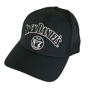 Jack Daniels Embroidered Logo Hat Black