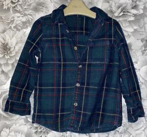 Boys Age 2- 3 Years - M&S Long Sleeved Shirt