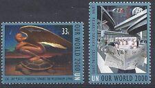 UNO new  york mi 835-836 (2000) postfris