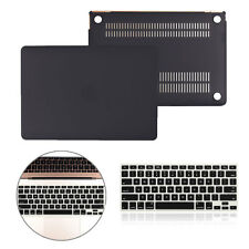 """Rubberized Hard Case Shell +Keyboard Cover for Macbook Pro 13/15"""" Air 11/13"""" RX"""