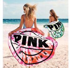 Victoria's Secret Pink Tie Dye Round Beach Towel in Pink Nwt
