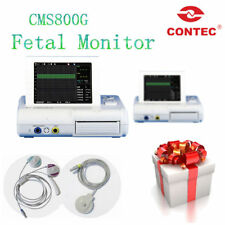 CMS800G Fetal Heart Rate Monitor TOCO/Fetal Move Mark+Twins Transducer,CONTEC