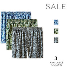Fruit of the Loom Big Men's Relaxed Fit Camo print Boxers 2X Large 3 Pack