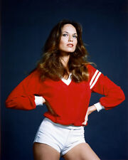 CATHERINE BACH SEXY 8X10 COLOR PHOTO IN SHORTS