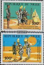 Niger 750-751 (compleet Kwestie) postfris MNH 1981 Festival de Jeugd