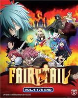 DVD Anime Fairy Tail Season 1 Complete Series (Vol. 1-175 End) English Subtitle