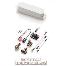 EMG SLVX WHITE Single Coil Strat Fender Stratocaster Active Replacement Pickup