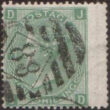 Great Britain 1873 SG117 1/- green Queen Victoria FU