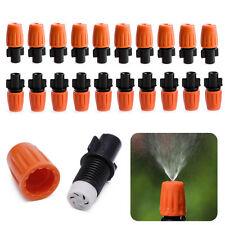 20Pcs Sprayer Sprinkler Heads Nozzle For Garden Misting Watering Drip Irrigation