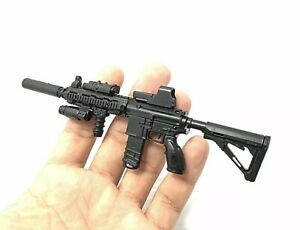 "1/6 Scale HK416 M416 Rifle Gun Weapon Military For 12"" Action Figure Soldier UK"