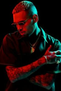 CHRIS BROWN POSTER 24 x 36 inch Poster Photo Print Wall Art Home C