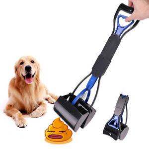 Pet Dog Waste Grabber Picker Pooper Poop Scoop Grabber Picker Long handle