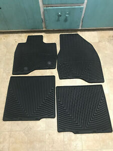 WeatherTech 2015 2016 Ford Explorer All-Weather Floor Mats 1st 2nd Rows Black