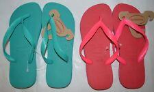 (2 Pair) Havaianas Top Havaianas Flip Flops- Women Size 6