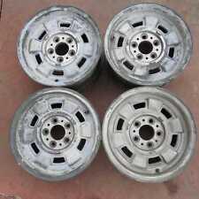 Set 4 cerchi in lega Cromodora 14x6,5J 5X108 Fiat 130 1969-1977(30315 20Y-3-A-2)