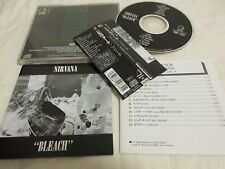 NIRVANA / bleach /JAPAN LTD CD OBI