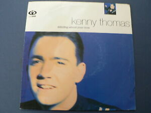 EP 7 INCH SINGLE KENNY THOMAS THINKING ABOUT YOUR LOVE 1991 COOLTEMPO