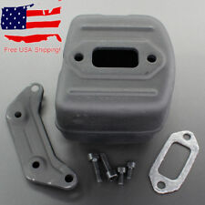 Muffler Exhaust Kit For Husqvarna 385 390 372 371 365 362 # 503765301 544029501