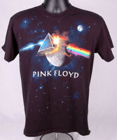 PINK FLOYD T Shirt-Dark Side of the Moon-Black-M-Cotton-Rock Music-Cosmos Prism