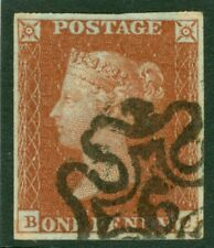 Number 6 in cross. A very fine 4 margin example CAT £160
