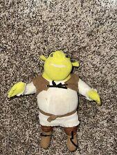 "Shrek Plush stuffed animal Shrek 2  Green Ogre by Hasbro 8"" Toy Doll sewn eyes"