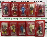 LOT-B 10 SOLDAT POMPIERS DEL PRADO 1/32 USA Allemagne Japon Inde Portugal Bosnie