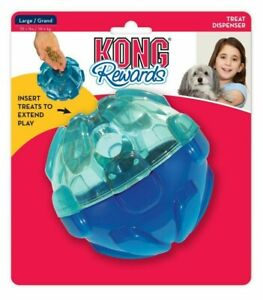 KONG Dog Rewards Ball Treat Dispenser Boredom Buster Interactive Bouncey Large