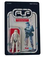 Vintage 1980 Star Wars Imperial Stormtrooper Figure On Custom Made Card Back