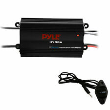 Pyle Auto 4-channel Bridgeable Marine Amplifier - 200 Watt RMS 4 Ohm Full Range