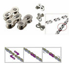 2Pcs Portable Bicycle Bike Chain Master Link Joint Connector 10 Speed Quick Clip
