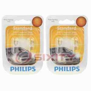 2 pc Philips Front Side Marker Light Bulbs for Porsche 911 Boxster Cayman gj